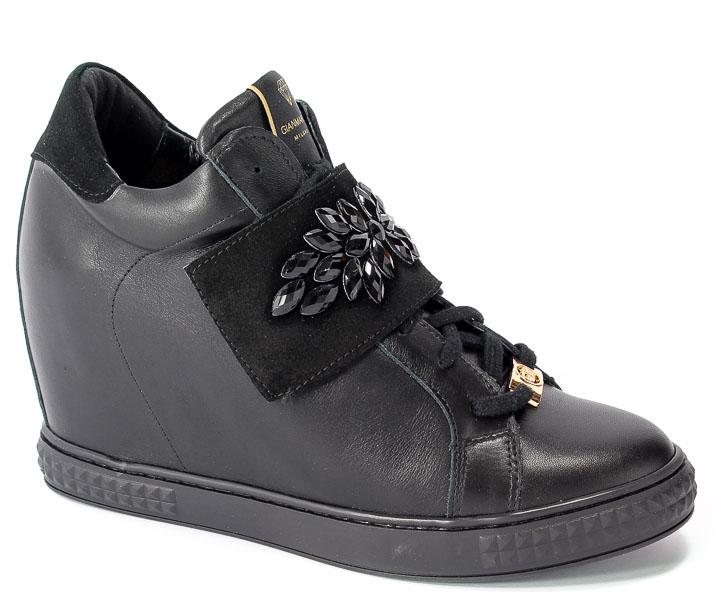 Sneakersy Gianmarko 105/5 Black/Black