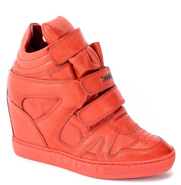 Sneakersy Carinii B3953/N-I80-000-000-B88 Czerwony