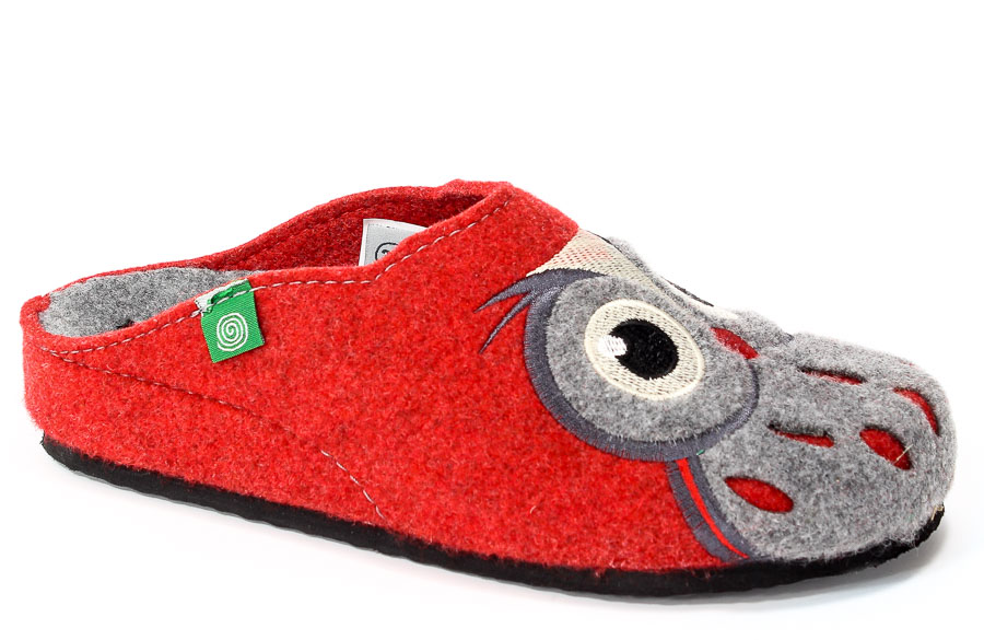Pantofle Brinkmann 320455 Rot
