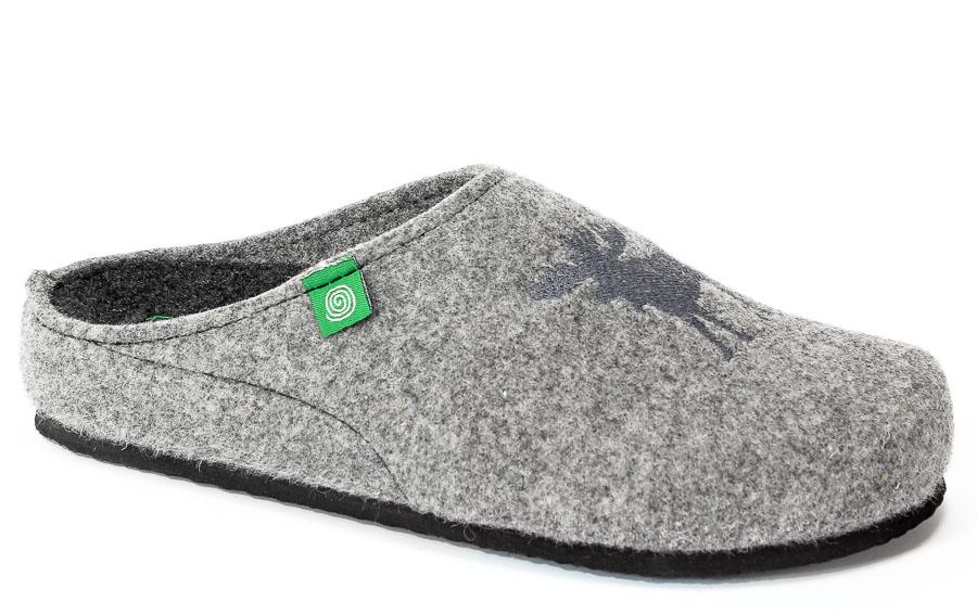 Pantofle Brinkmann 220241 Grau
