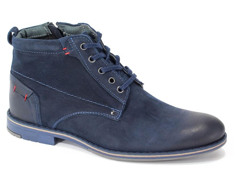 Trzewiki Riko 791 Juma Jeans/Granat