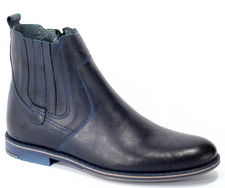 Trzewiki Riko 792 Feda Jeans Granat