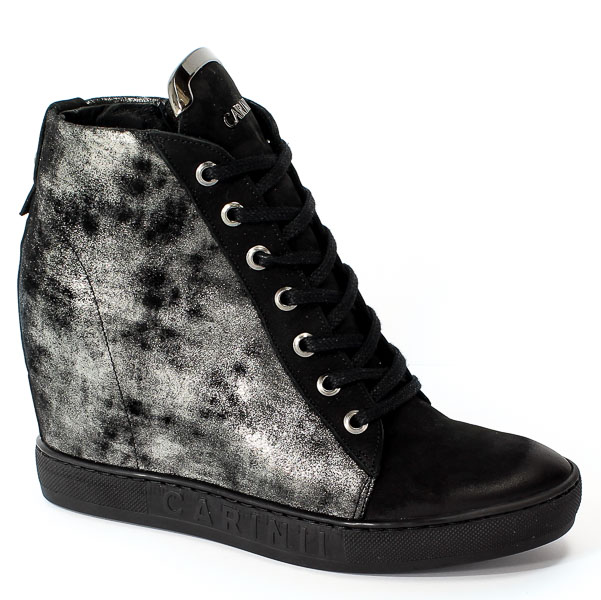 Sneakersy Carinii B4078-360-I23-PSK-B88 Czarny