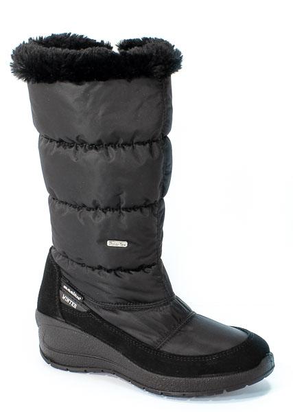 Śniegowce Manitu 990982 Schwarz