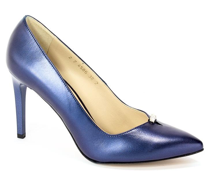 Czółenka Anis 4586 Blue Perlata