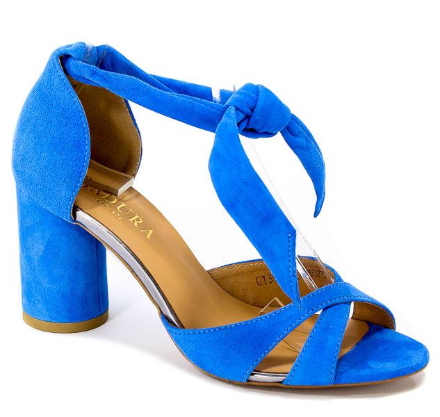 Sandały letnie Badura 4362-69-1162 niebieski wel