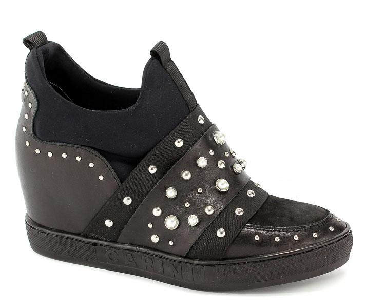 Sneakersy Carinii B4465-E50-360-000-B88 Czarny