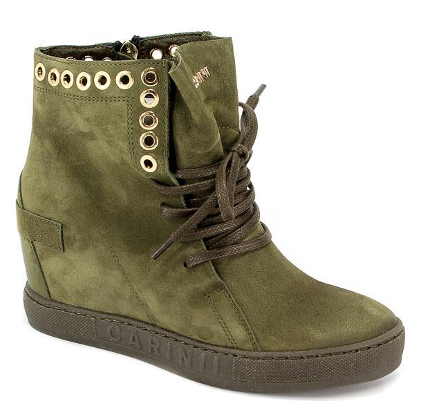 Sneakersy Carinii B4359-I43-000-000-B88 Zielony