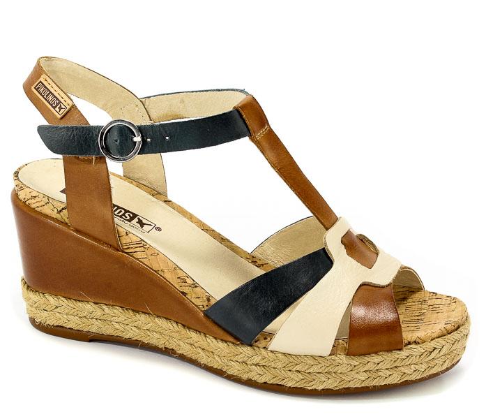 Sandały Pikolinos W7R-5802 Brandy Marfil