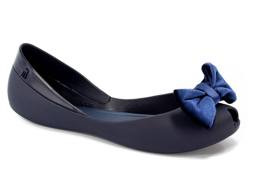 Baleriny Letnie Melissa 31980 01682 Navy Blue
