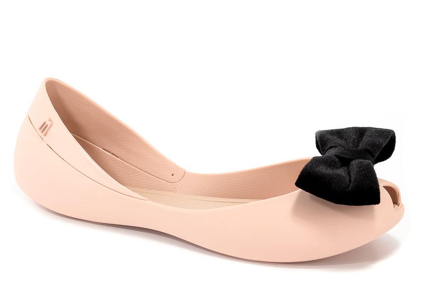 Baleriny Letnie Melissa 31980 51647 Pink/Black