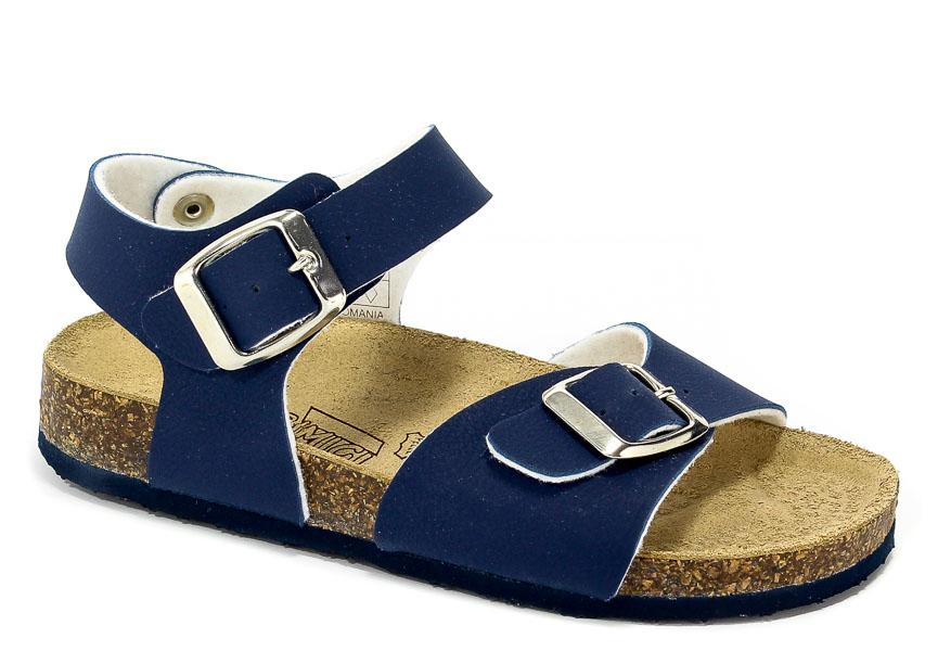 Sandały Primigi 1426600 Nappa Pu/Blue r.30-35