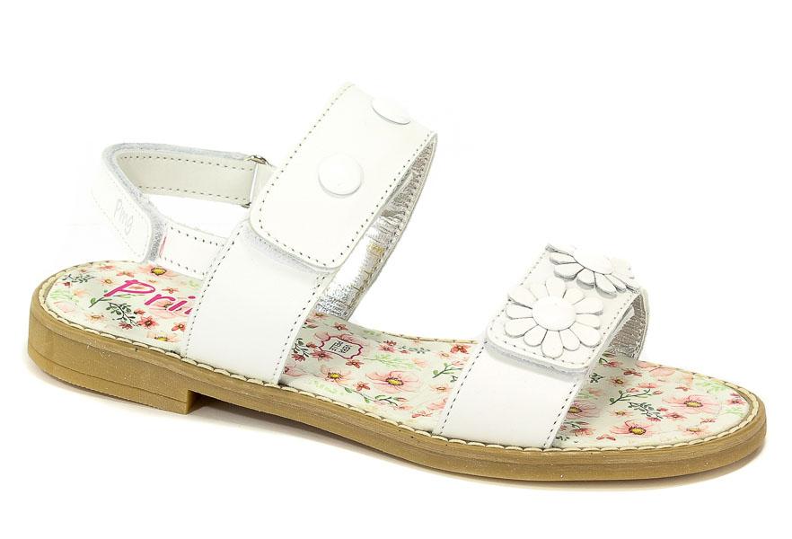 Sandały Primigi 1439911 Nappa/Bianco r.34-39