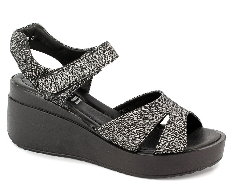 Sandały Simen 0332A Boliwio Srebro