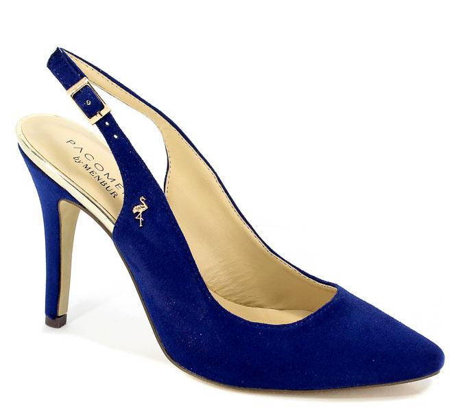 Sandały Menbur 07026 0066 Azul Fuerte/Dazzling Blue