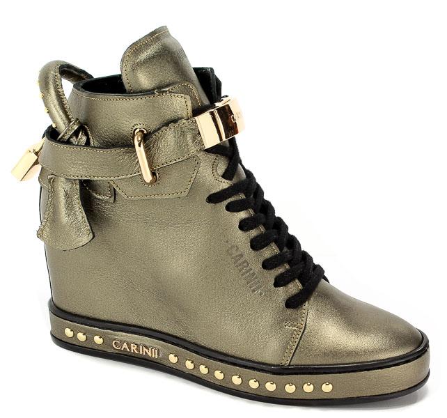 Sneakersy Carinii B4464-L94-000-000-C98 Miedź