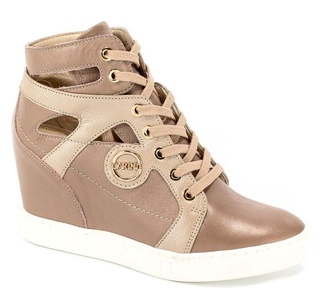 Sneakersy Letnie Carinii S3909-420-420-000-B88 Różowy