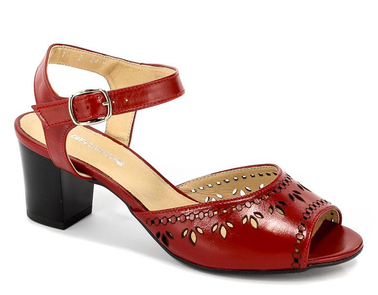 Sandały Grodecki 1160A Czerwony