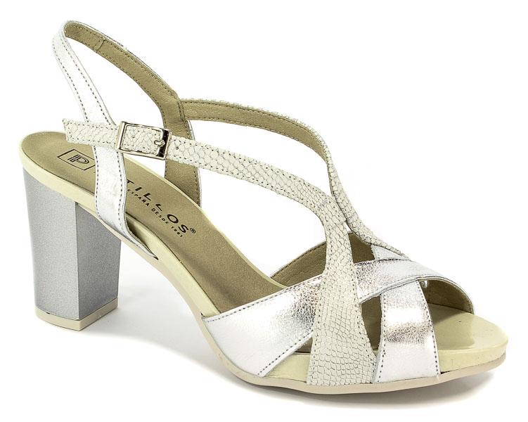 Sandały Pitillos 5101 Plata-Plat