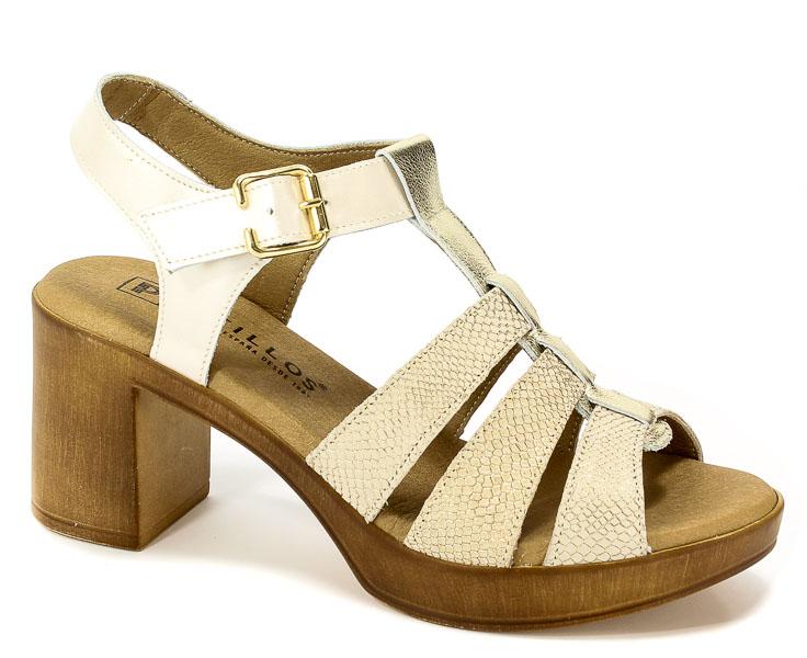 Sandały Pitillos 5152 Oro_Or-Pie