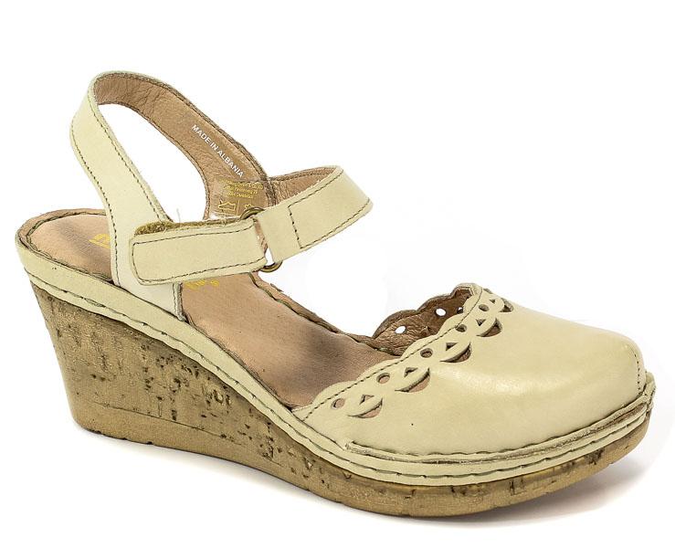 Sandały Manitu 910778 OffWhite