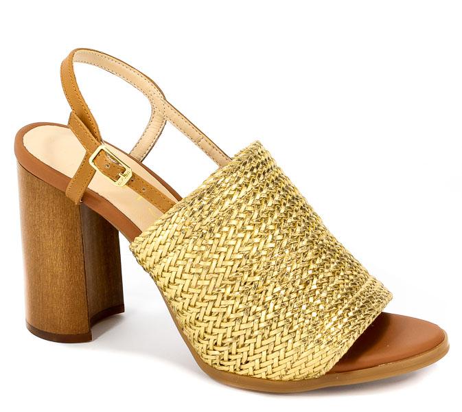 Sandały Unisa Waito Ta Va Gold Tabala