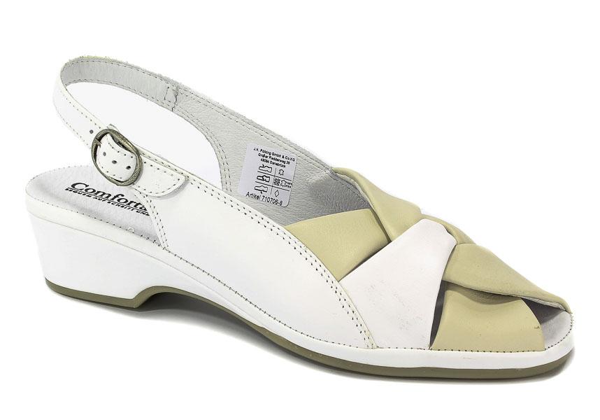 Sandały Comfortabel 710706 Weis