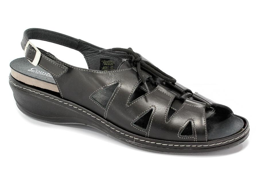 Sandały Comfortabel 710521 Schwarz