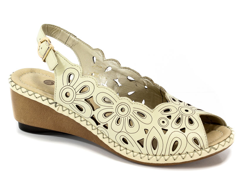 Sandały Remonte D6156-80 Beige