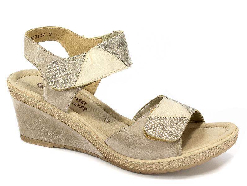 Sandały Remonte D0454-43 Gold