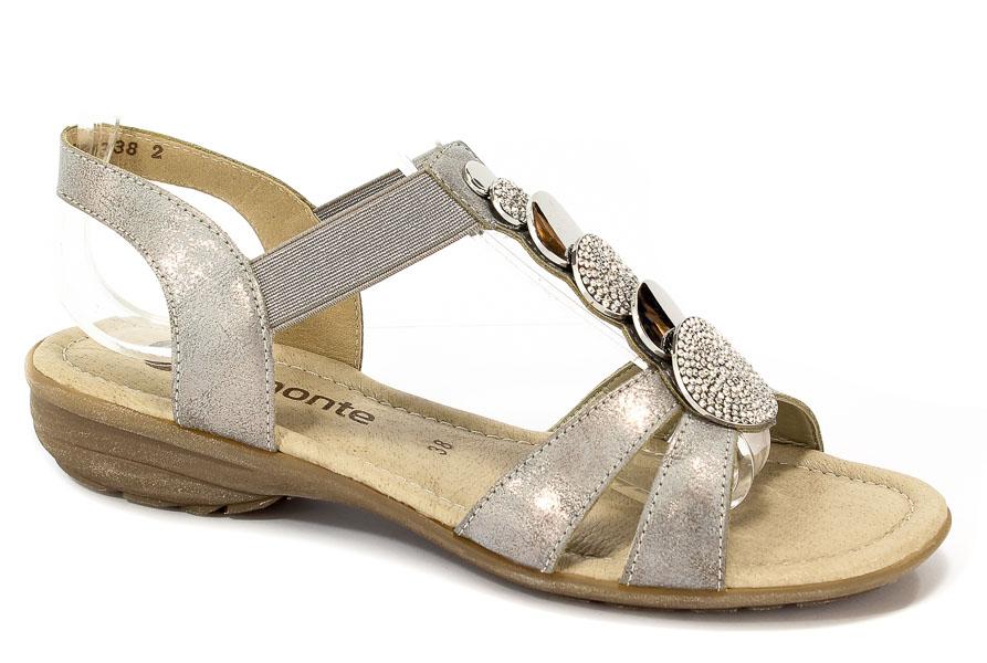 Sandały Remonte R3638-90 Grey Combination
