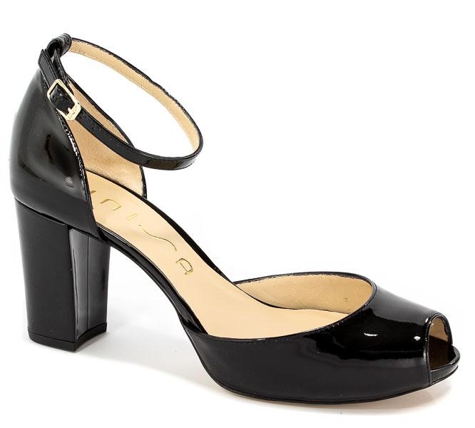 Sandały Unisa Niurka Pa Black Patent