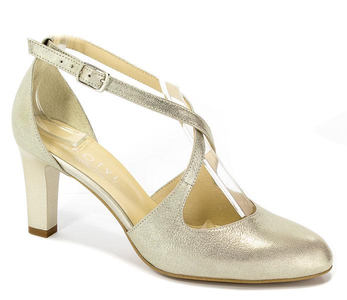 Sandały Kotyl 7079 G Złoty Ef