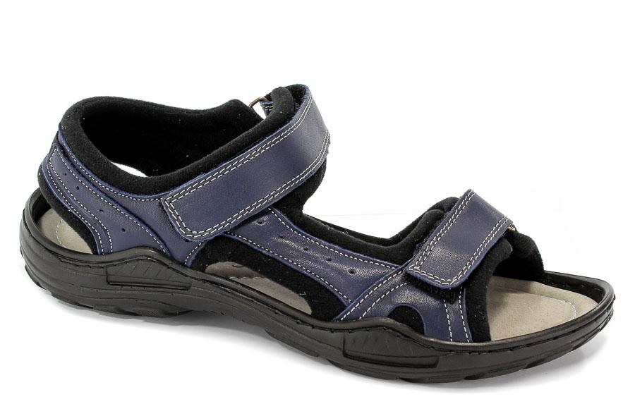 Sandały Rammit 845 L-05 Niebieski