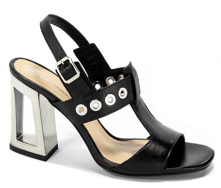 Sandały Solo Femme 60818-11-H74/000-07-00 Czarny