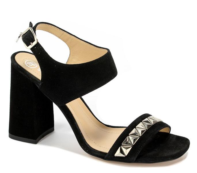 Sandały Solo Femme 60815-13-020/000-07-00 Czarny