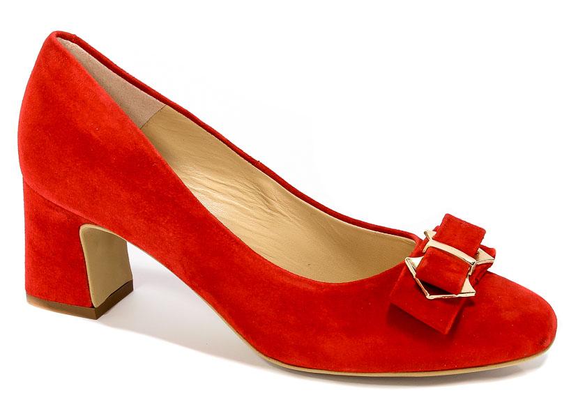 Czółenka Solo Femme 52306-31-G13/000-04-00 Czerwony