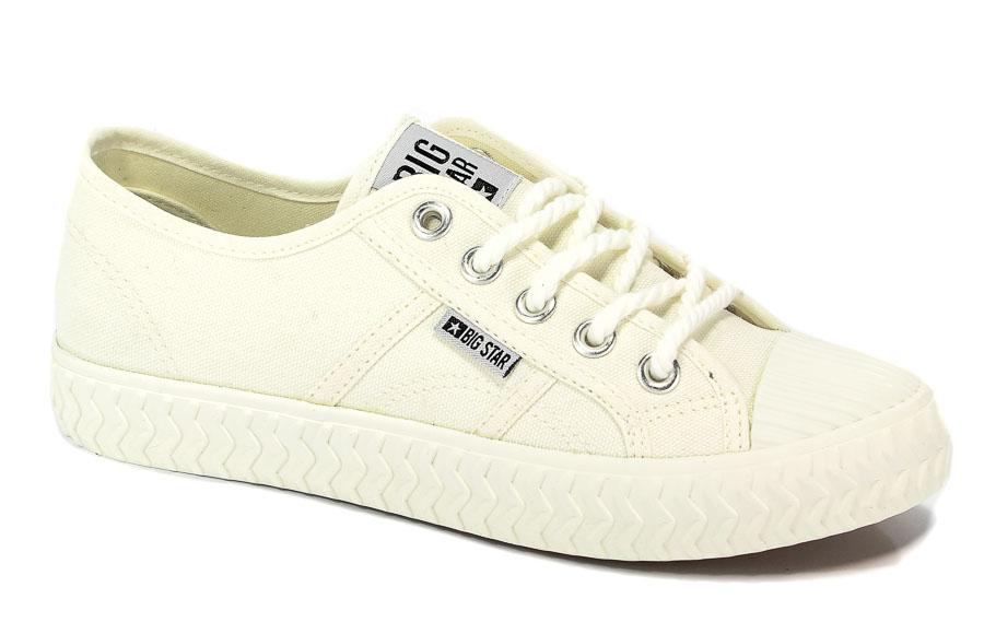 Półbuty Big Star AA274A024 Biały/White