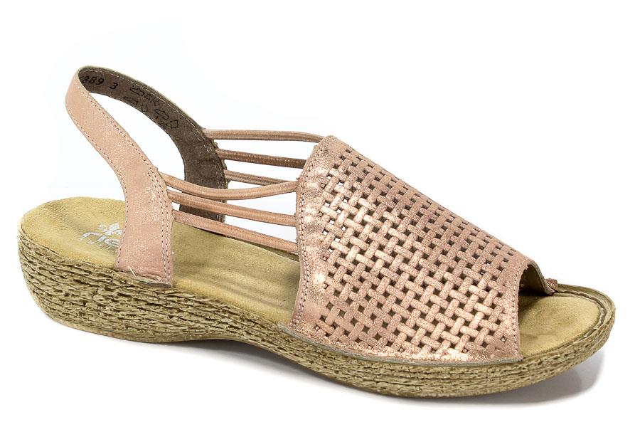 Sandały Rieker 65845-31 Rosa