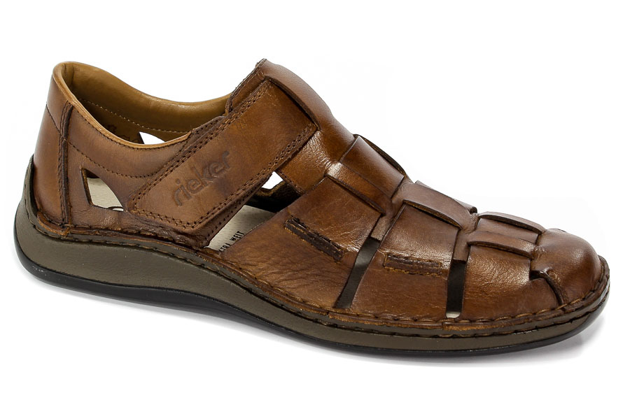 Sandały Rieker 05273-25 Brown