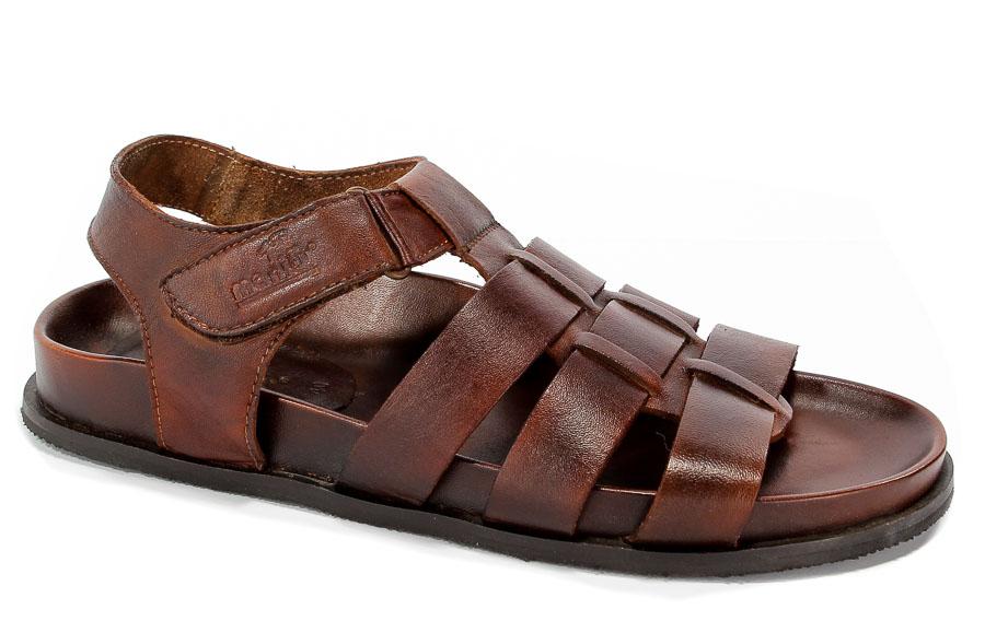 Sandały Manitu 610224 Braun
