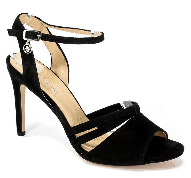 Sandały Solo Femme 26484-53-020/000-07-00 Czarny