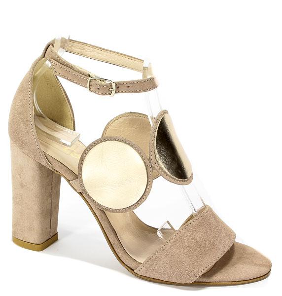 Sandały Cortesini 02021 Skóra Lino/Zamsz