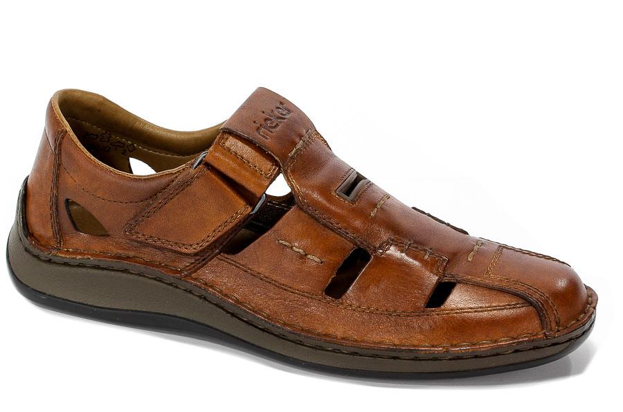 Sandały Rieker 05284-24 Brown