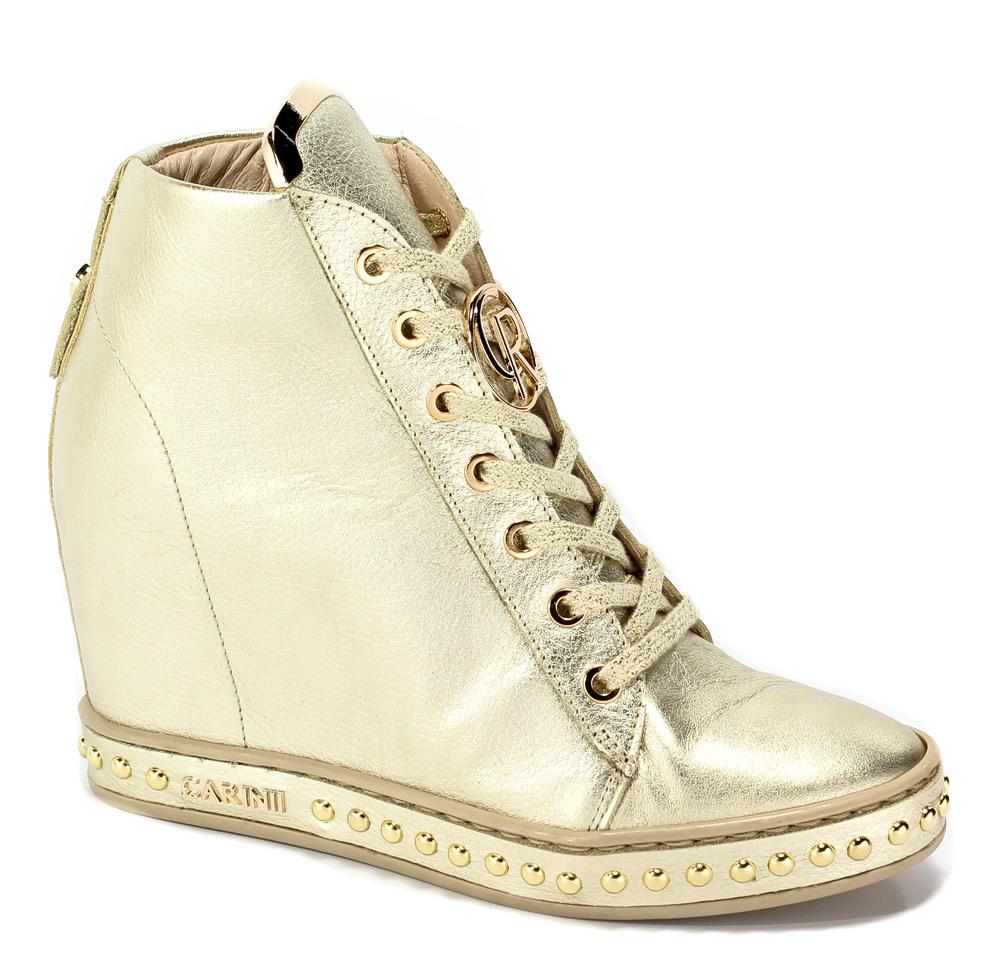 Sneakersy Carinii B4462-L90-000-000-C98 Platyna
