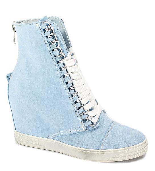 Sneakersy Booci 2222/066/s Jasny Niebieski
