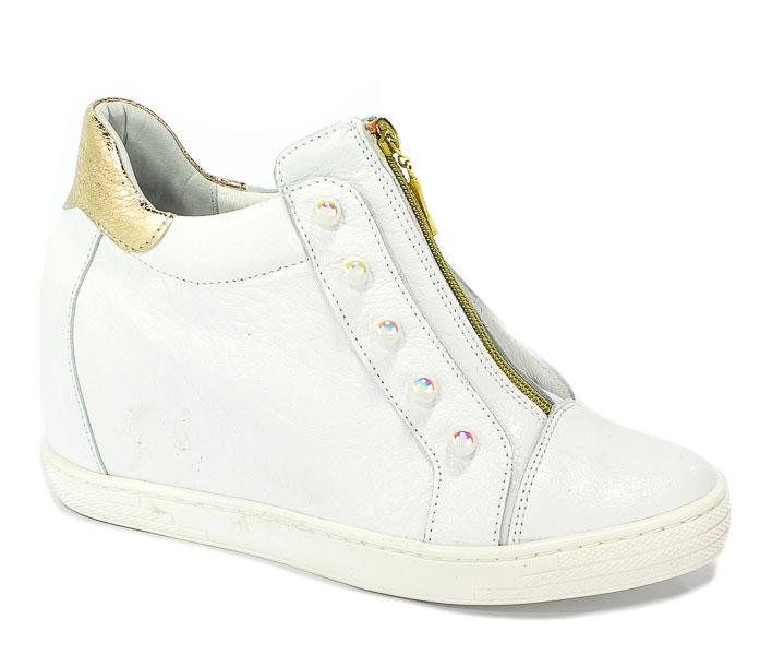 Sneakersy R.Polański 0922 Biały Kryształ