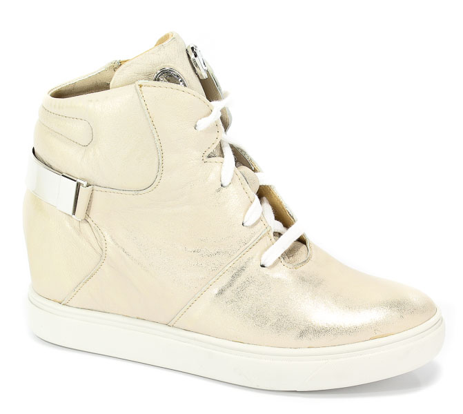 Sneakersy A.J.F 01291 Złoty 777