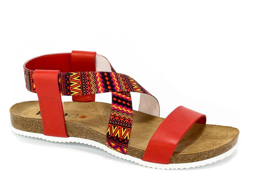 Sandały Verano 17324-F25 Rojo