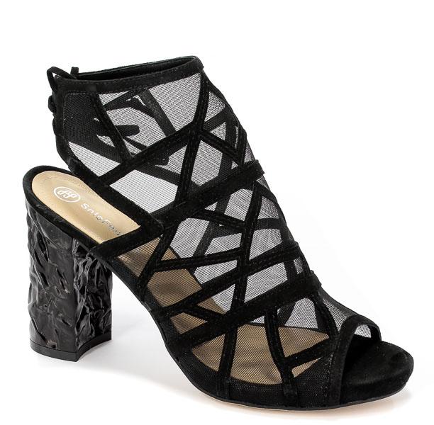 Sandały Solo Femme 15203-11-020/A46-07-00 Czarny
